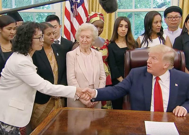 法輪功反迫害20年 法輪功學員獲邀白宮會見特朗普