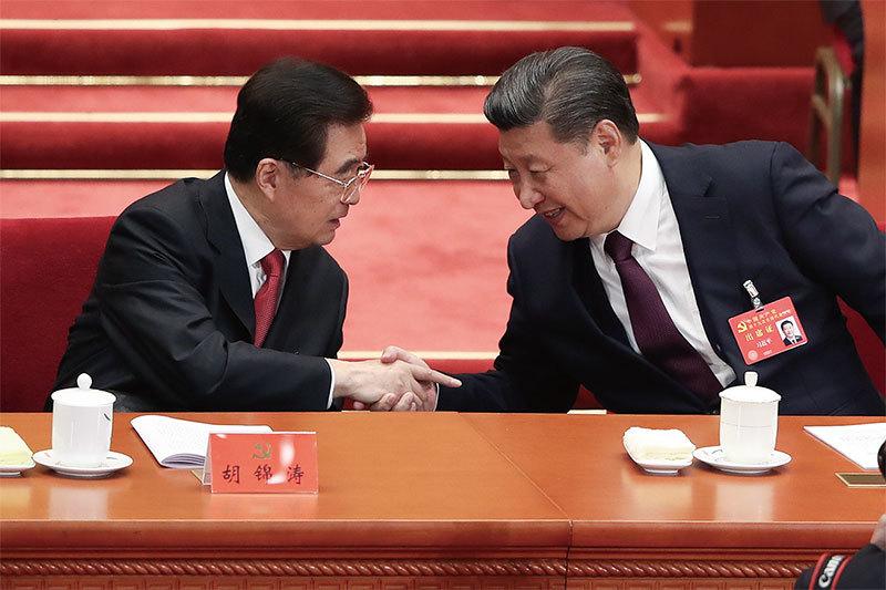 北戴河會上胡錦濤罕見發聲: 不要成為香港的狠角色