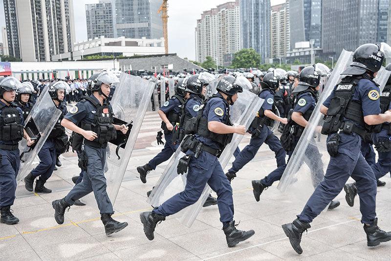 習近平看清江派陷阱不會出兵 香港已成倒共第一張骨牌