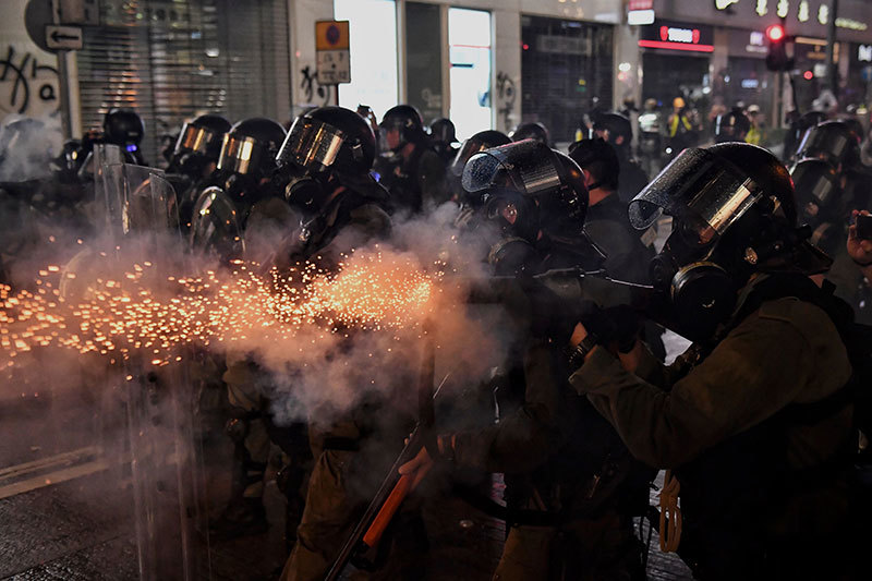 中共如何散布香港虛假信息