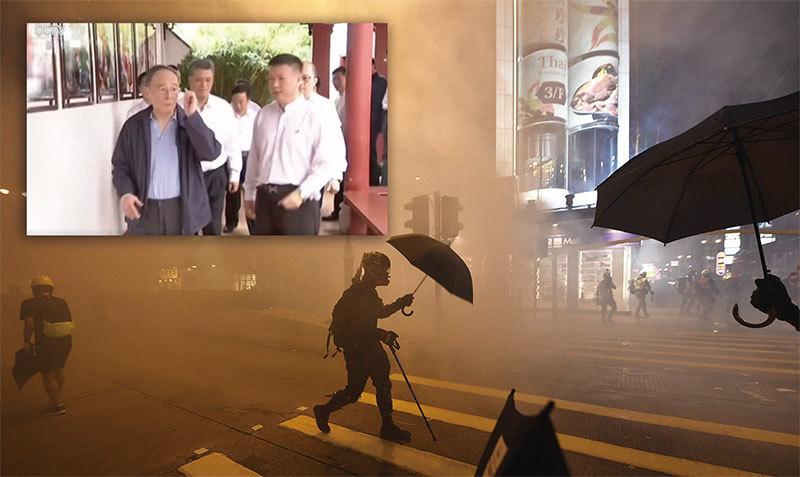 王岐山致電美國及香港滅火 重現老習王體制