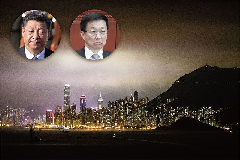 香港局勢跌宕起伏 習七日三次交鋒韓正