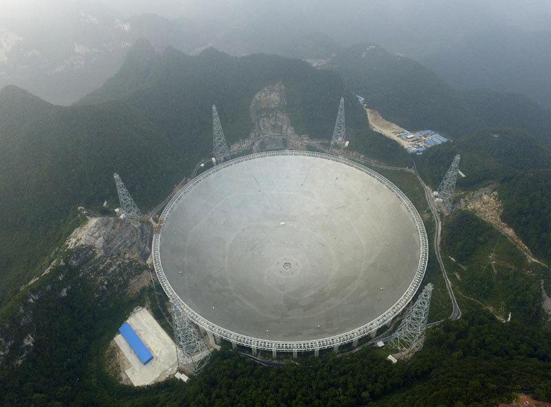 外星人來電? 「藏字石」故鄉發現神祕信號