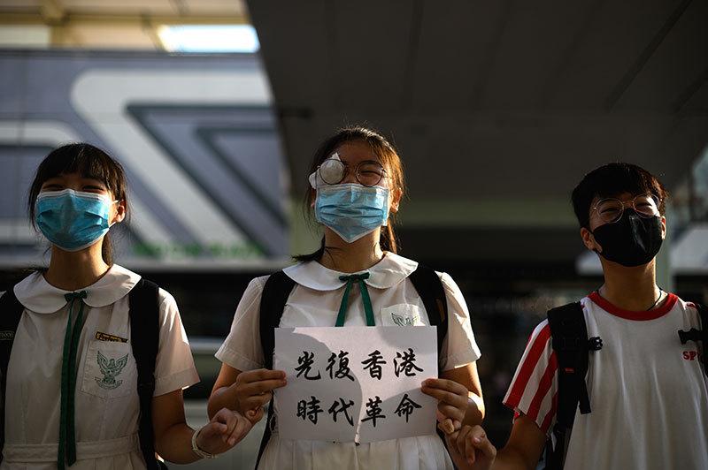 香港的怨氣沸騰之夏 爭取自治、民主和法治的一場戰役