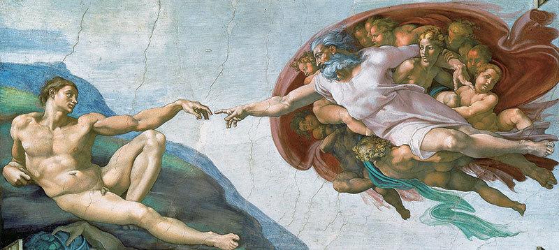 米開朗基羅〈創造亞當〉與內在之國
