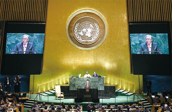 >聯合國祕書長:世界恐分裂成美中兩大敵對陣營