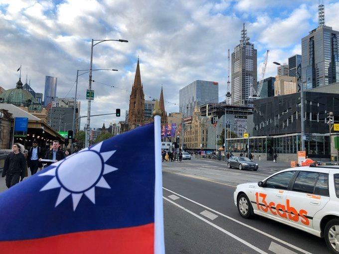108年雙十國慶 香港國旗遍地開花
