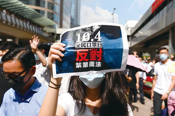 >中共綁票香港上演針對美國的超限戰