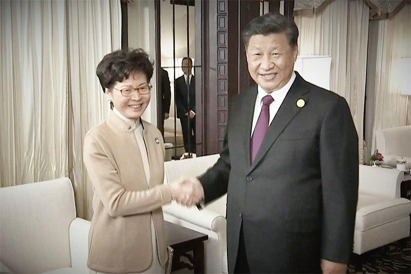 香港危急!習近平挺林鄭 意圖在美國立法之前「止暴懲暴」