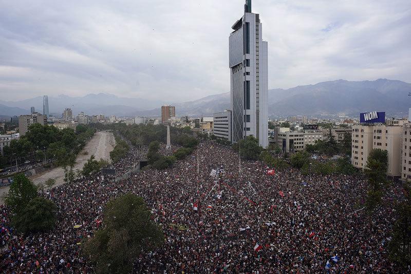 >中共暗招 智利峰會取消後要求美方降稅