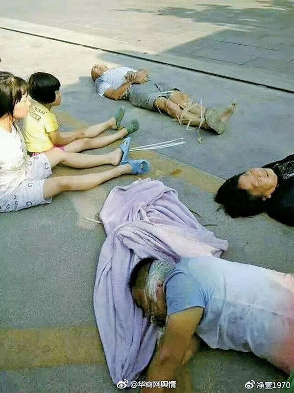 暴力強拆 屋主全家遭捆綁毆打