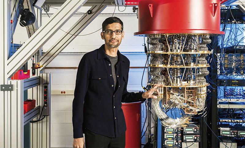 >美中量子戰 谷歌電腦率先實現「量子至尊」