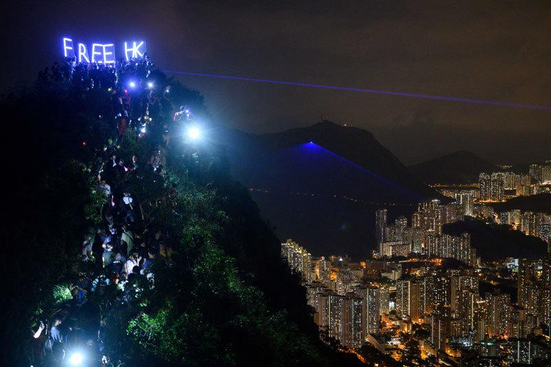 >香港爭取民主的呼聲在全球迴響