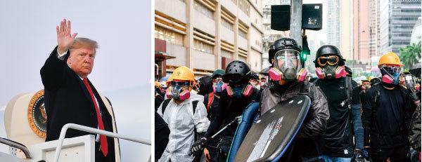 >《新紀元》2019環球年度人物:特朗普和香港年輕抗爭者