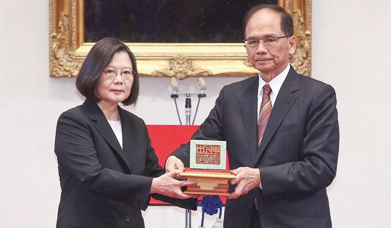「一國兩制」全面破產 蔡英文接璽就職 香港「政變」