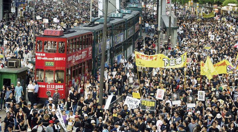 香港陷入憲政危機 中共不倒 香港沒自由