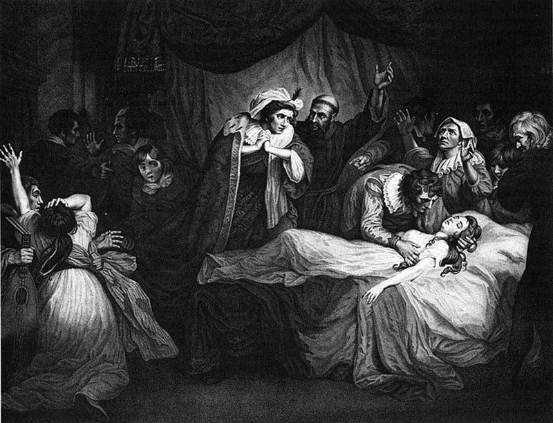 羅密歐朱麗葉與中世紀瘟疫