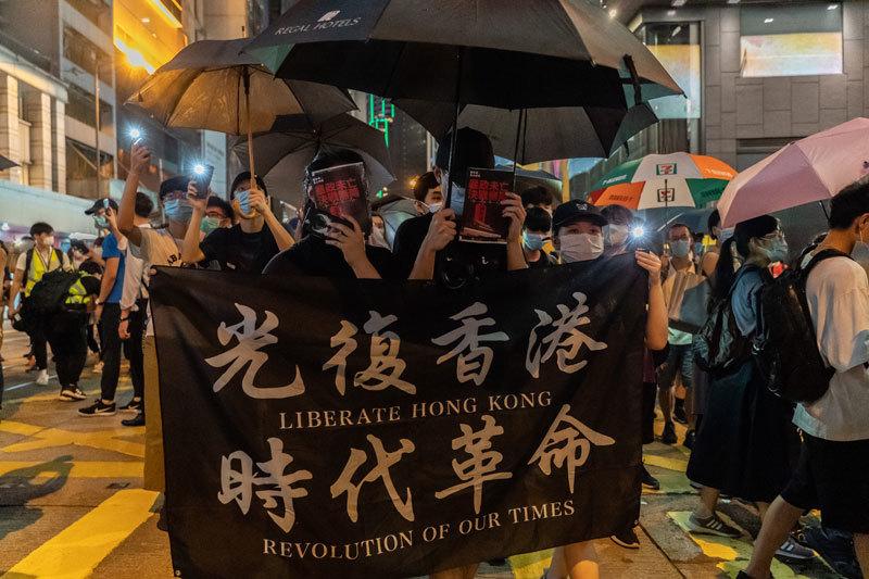 >香港是新冷戰前線