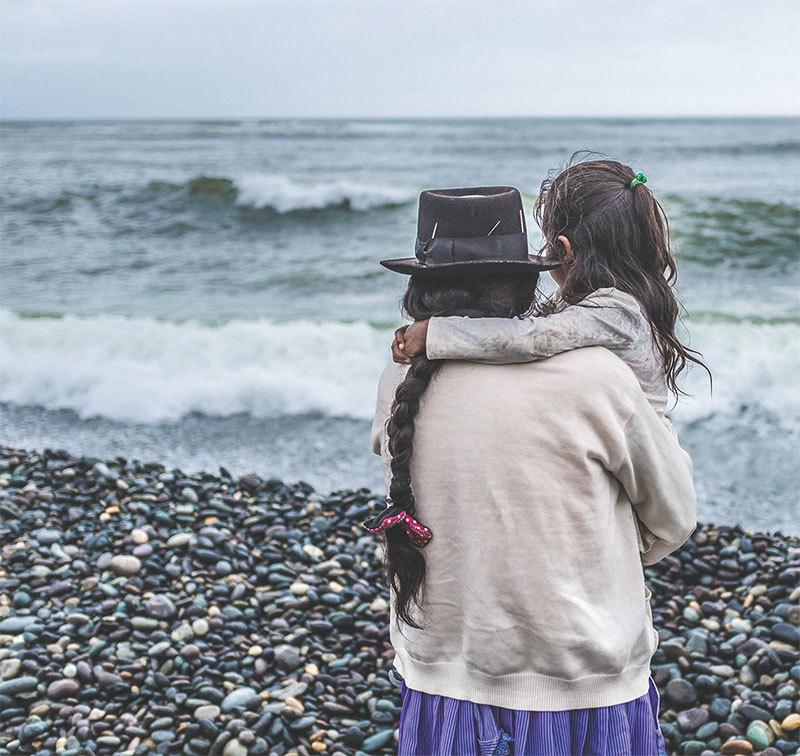 >父愛如山、母愛似海--母親篇