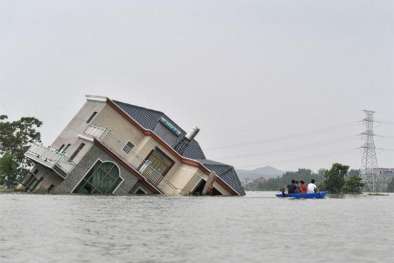 大陸地震洪水  港人不再捐款了