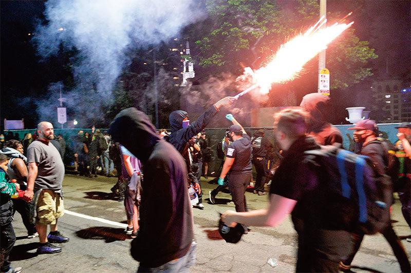 親中共勢力在美國搞自治區 做「人民戰爭」