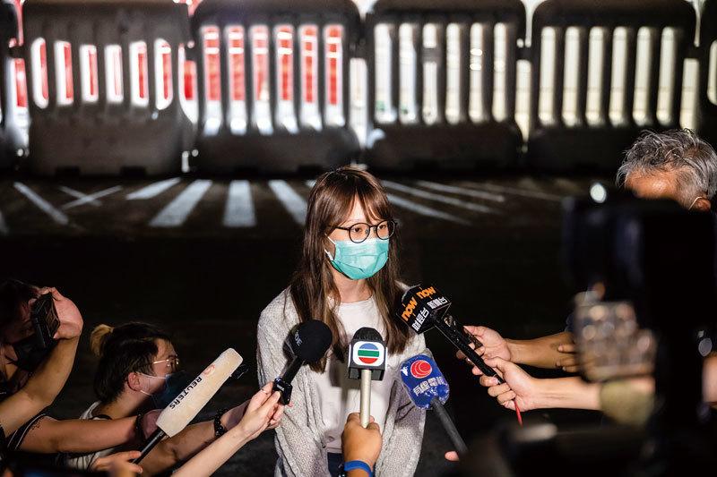 >日媒:周庭抓不得 會激化日本社會反共