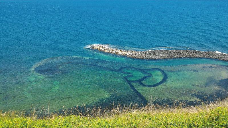 澎湖踏浪追風 藍天靚海的美麗邂逅