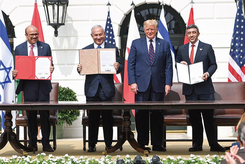 華府簽《亞伯拉罕協議》  世界火藥桶拆引信