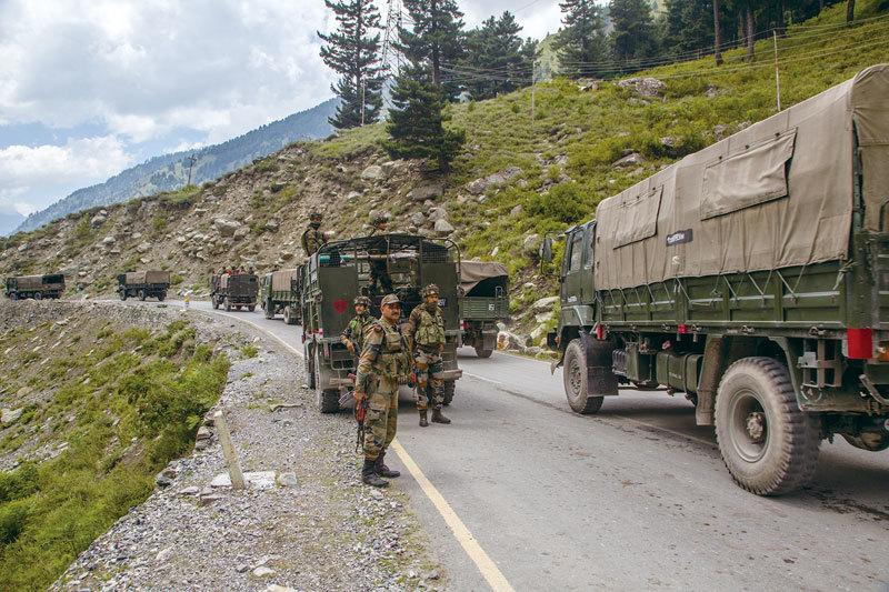 >中印邊境再爆衝突  雙方增兵屯糧備戰