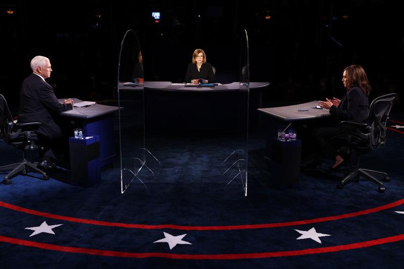 >美國副總統辯論顯示 賀錦麗野心勃勃 傲慢且易怒
