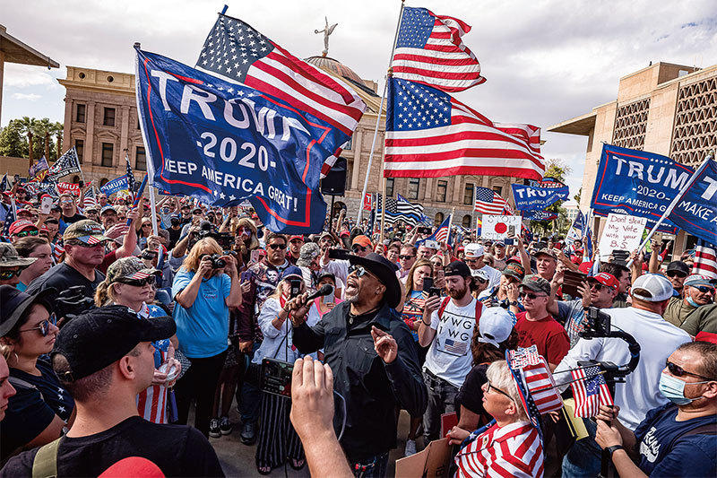 專欄作家 陶傑: 美大選是南北戰後最大內戰