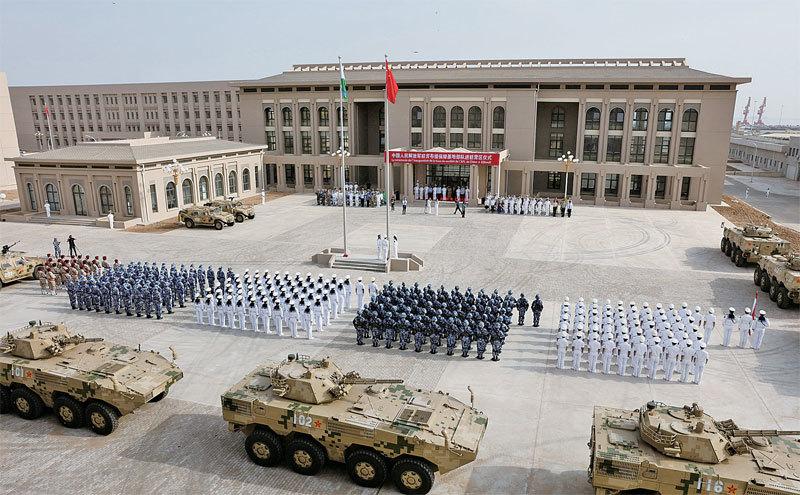 中共海外軍事基地為何落腳吉布提