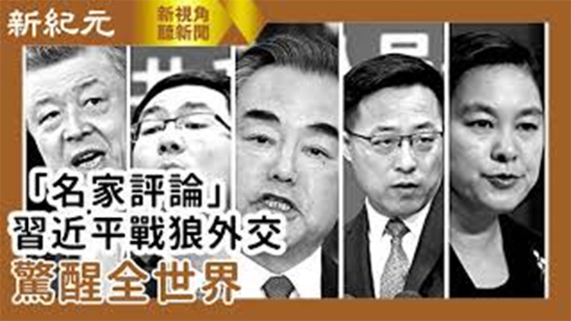【新視角聽新聞 #558】《名家評論》 習近平戰狼外交  驚醒全世界