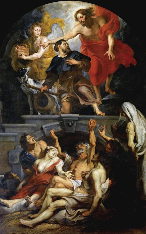 驅走瘟疫的慈悲 魯本斯筆下的聖洛克