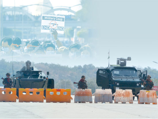 >緬甸軍事政變背後有中共鬼影