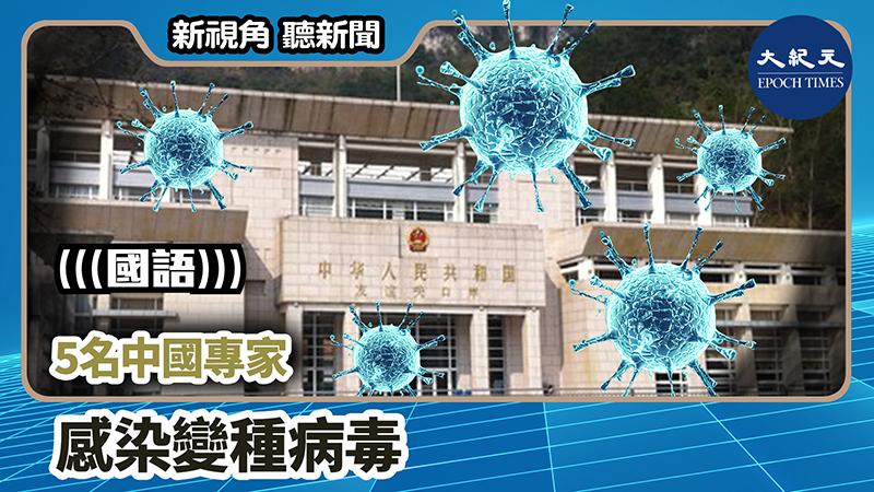 【新視角聽新聞 #934】5名中國專家感染變種病毒
