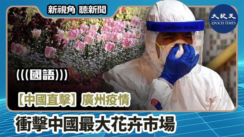 【新視角聽新聞 #996】【中國直擊】廣州疫情 衝擊中國最大花卉市場
