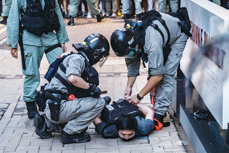 >中共新增鎮壓香港「預算」 美國如何抗共