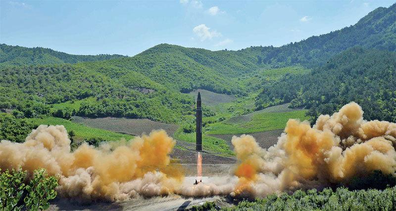 北韓核武問題在中共