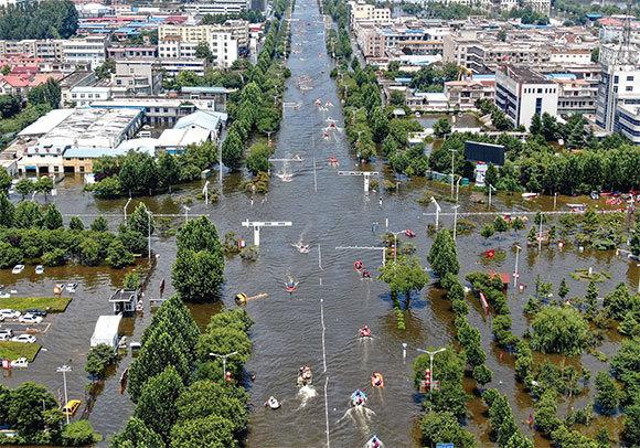 >水利專家解析河南洪災人為原因
