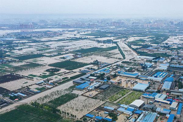 >河南洪災重創中國糧倉 牽動世界糧食供應鏈