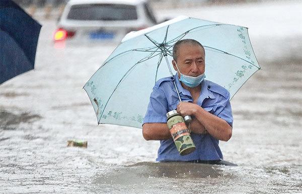 >降雨帶北移 對中國有大利
