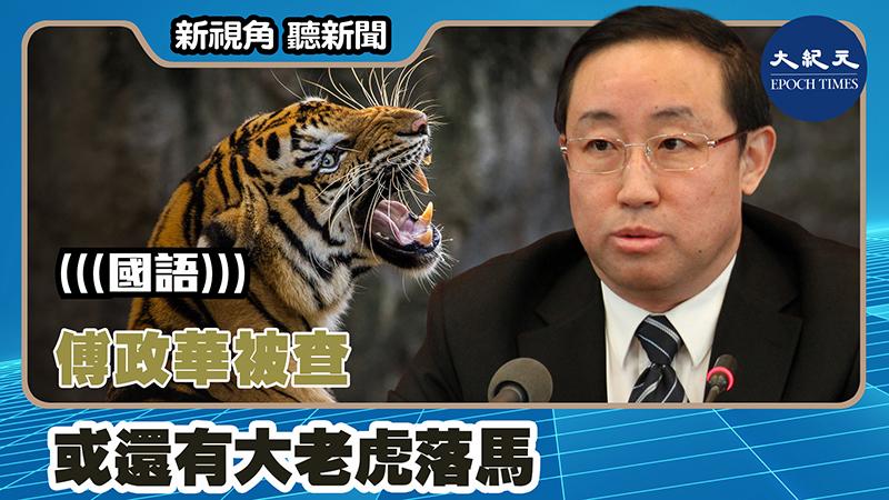 【新視角聽新聞 #1399】傅政華被查 或還有大老虎落馬