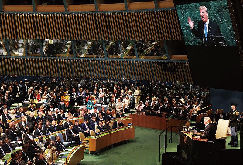 聯合國演講披露的川普使命