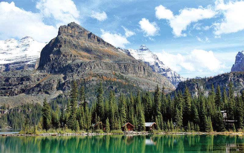 秋水長天會佳人 加拿大歐哈拉湖探祕