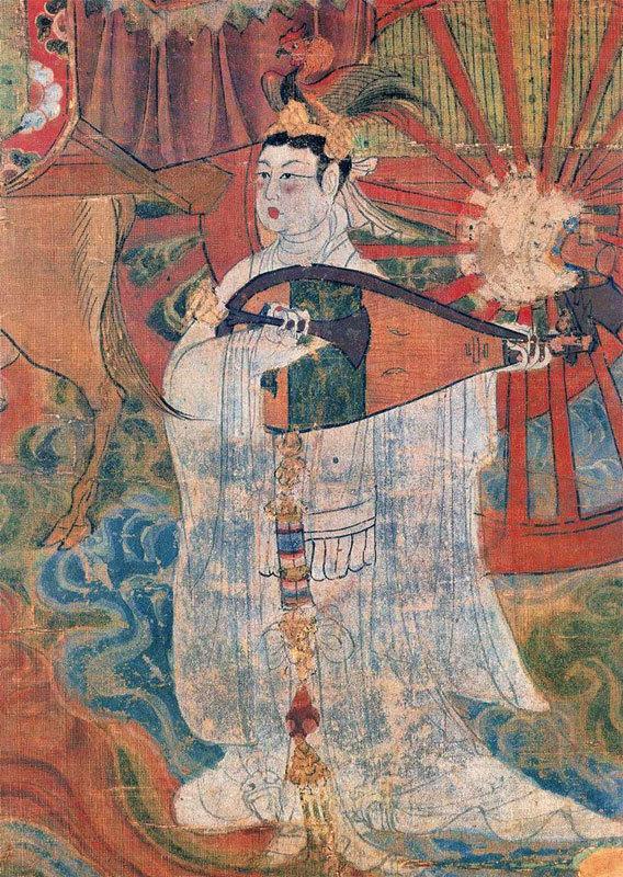 >聖王唐太宗和親 琵琶遺音響絲路