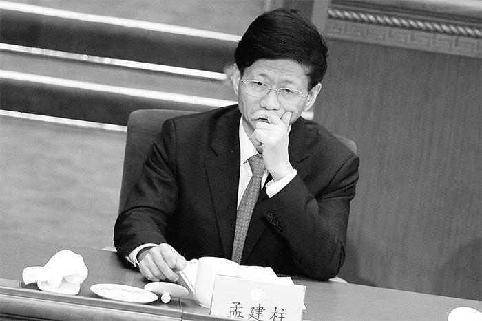 孟建柱醜聞頻傳 上海幫政法書記何去何從