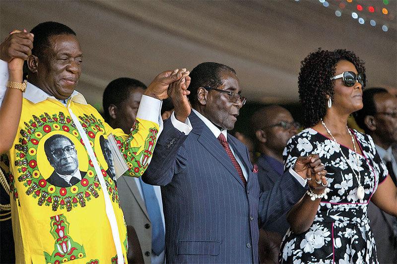 非洲江青引發政變 辛巴威總統辭職