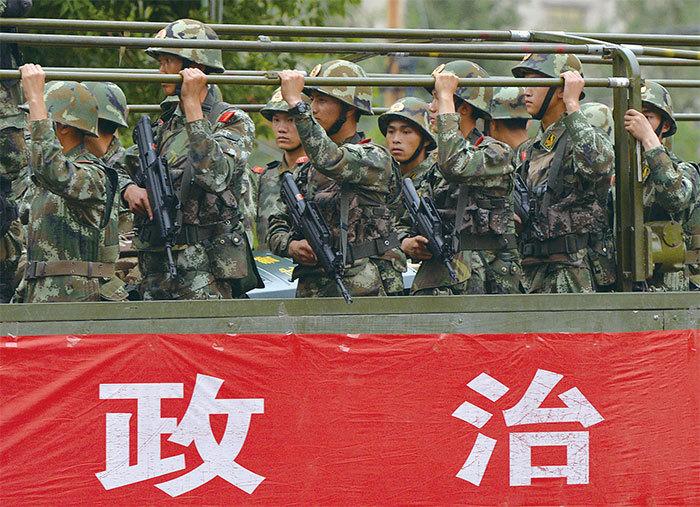 武警裁減40萬人「江家軍」被繳械