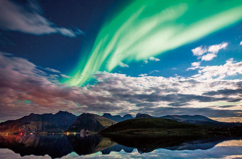 追尋幸福能量 冬季去北歐看極光